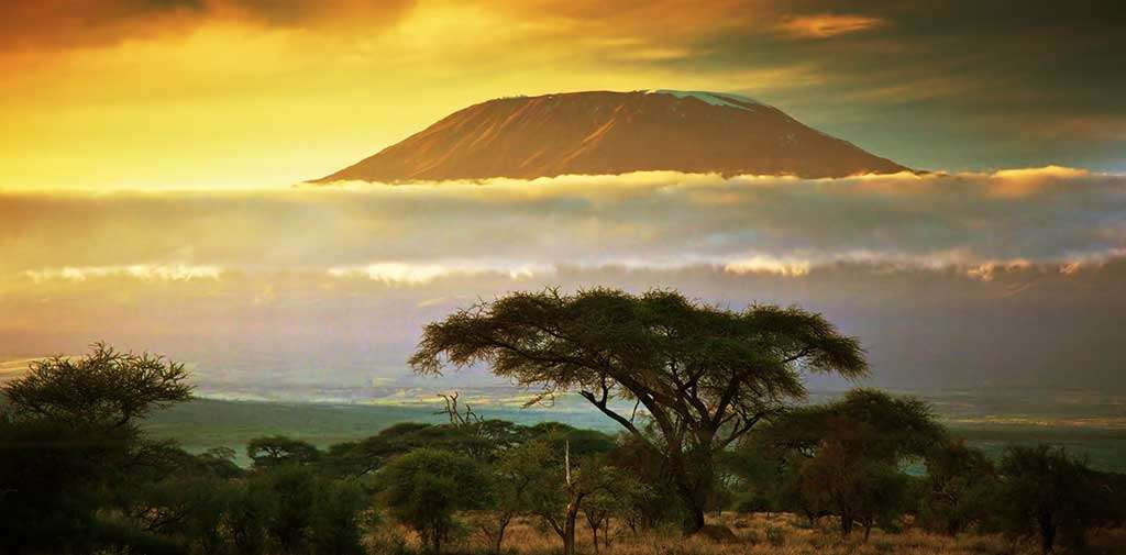 Sunset View of Kilimanjaro