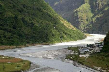 River Near Annapurna
