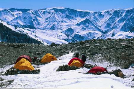 Camp One on Aconcagua
