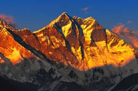 Alpine Glow From Everest Base camp