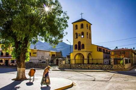 A church in Peru