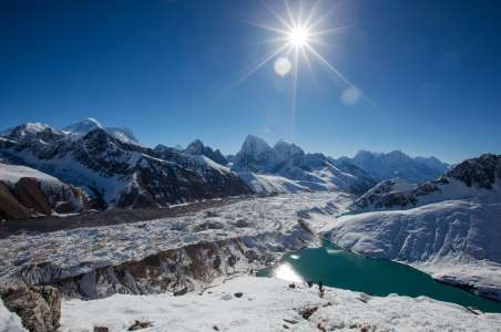 Glacier of Annapurna