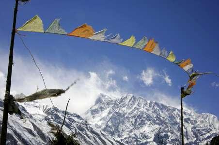 Pray Flags near Everest Base Camp