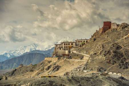 A monastery near Stok Kangri