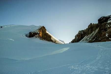 Climbing Mt Baker