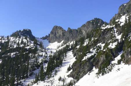 View of the Tooth at Snoqualmie