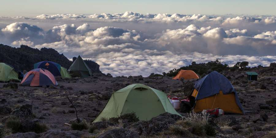 barranco camp kilimandscharo
