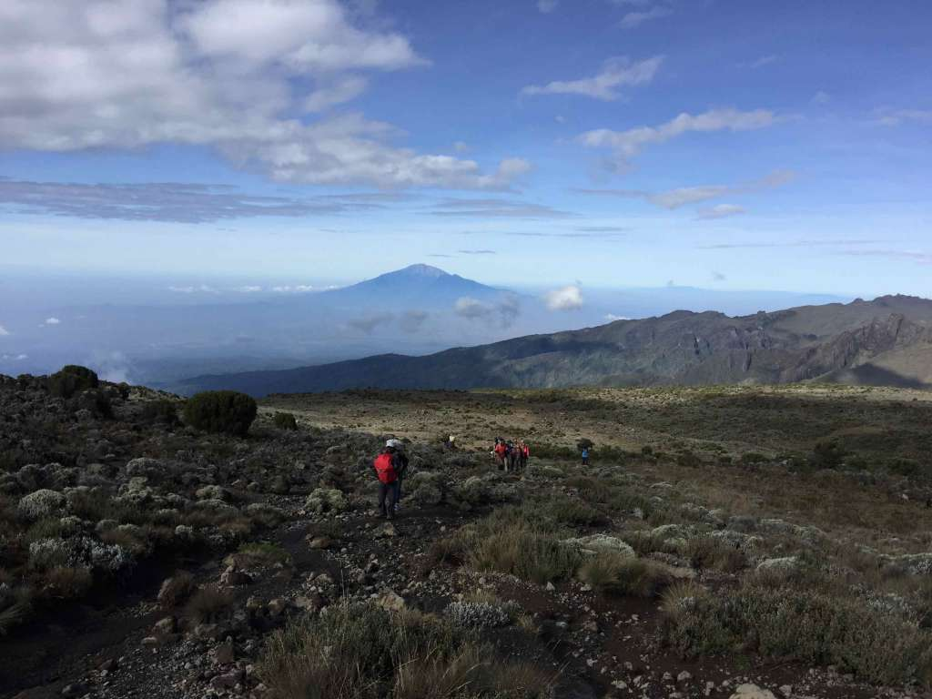 Scenery with Mount Meru in background (Day 3)