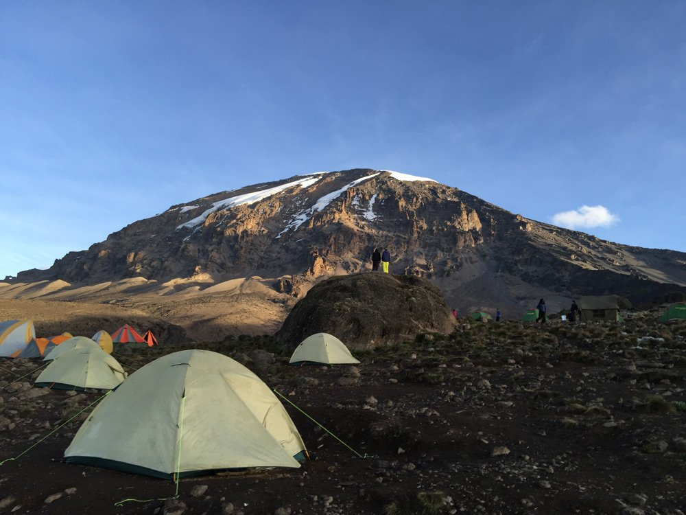 Karanga camp in the afternoon (Day 4)