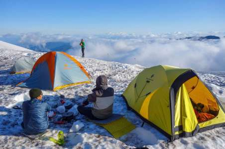 Cold Weather Snow Camping