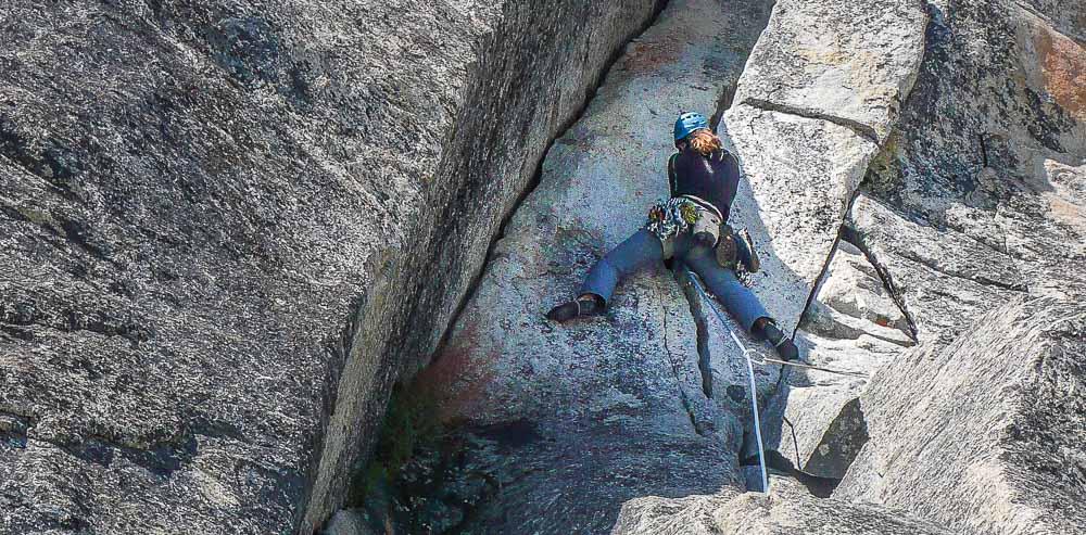 Trad Lead Climbing Course