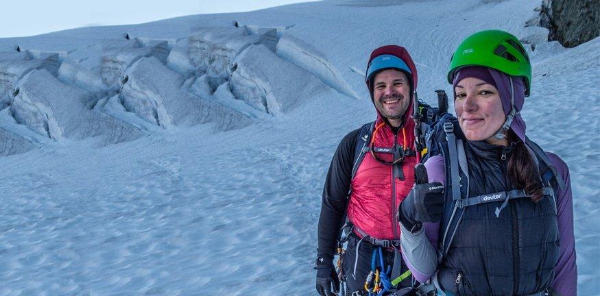 Mt. Shuksan Fischer Chimneys